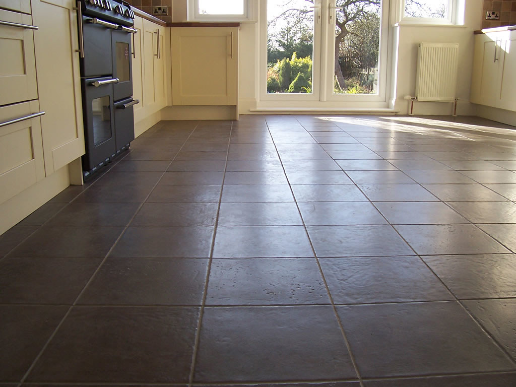 Awesome Ceramic Tile Kitchen Floor