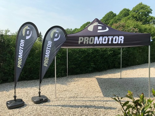 Promotor 3x3 en Teardrop | by Quick Folding Tent
