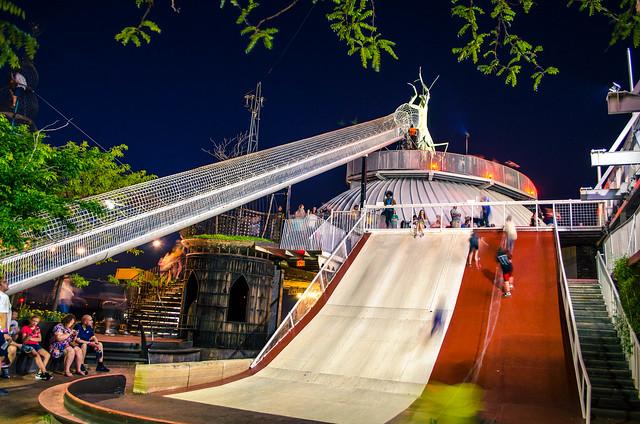 St Louis City Museum - Rooftop Slide