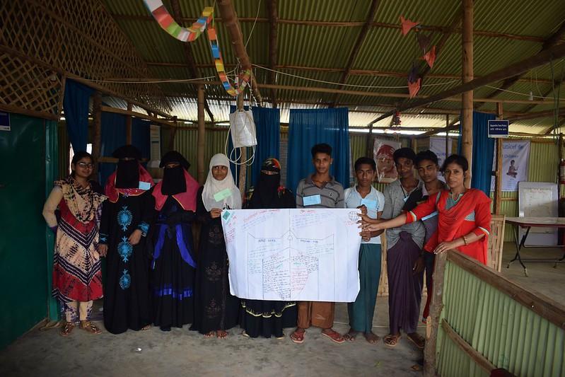 Rohingya Children's Peer group