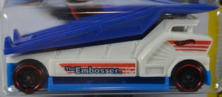 2017 Hot Wheels #339 Experimotors #6 The Embosser | by Milton Fox