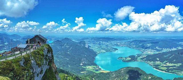 Panorama Schafberg Mountain