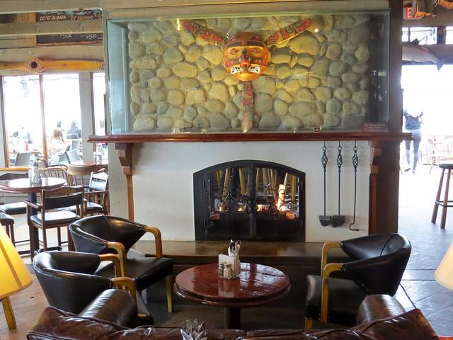 Flying Beaver Fireplace
