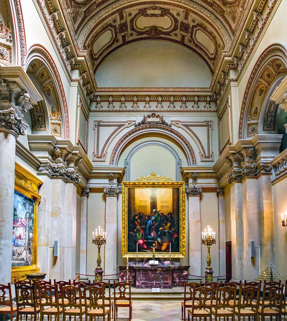 Die Tauf Und Traukirche Im Berliner Dom Das Altarbild Di Flickr