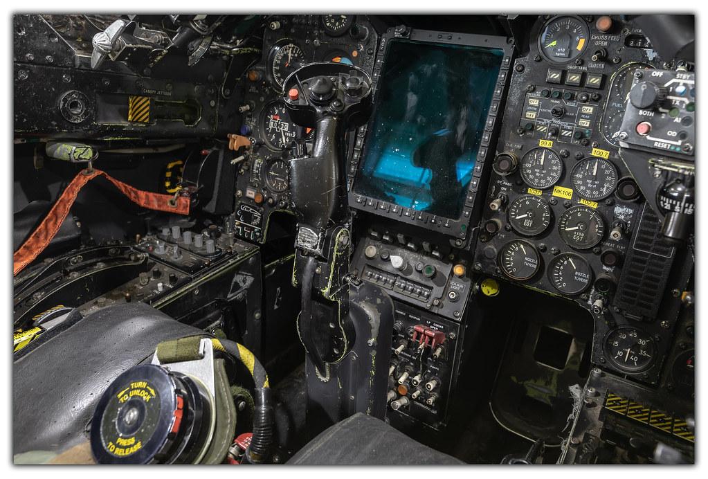 Jaguar GR3 Cockpit | Sepecat Jaguar GR3 Cockpit at RAF Cosfo
