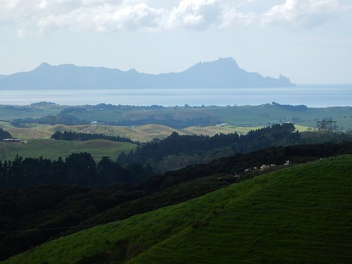 hills bay view landscape northland waipu slopes lookout dramatic