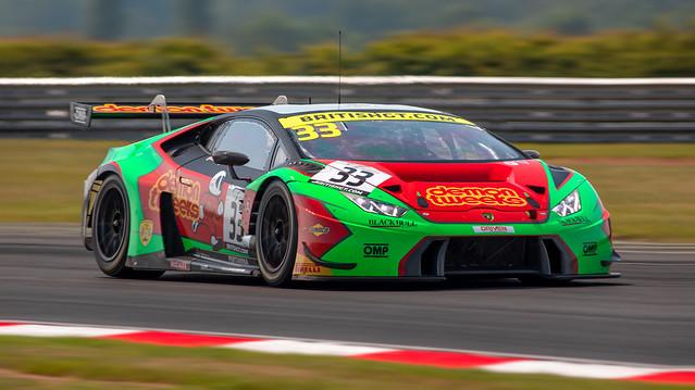 #33 Barwell Motorsport - Lamborghini Huracan GT3 - Jon Minshaw, Phil Keen British GT Championship