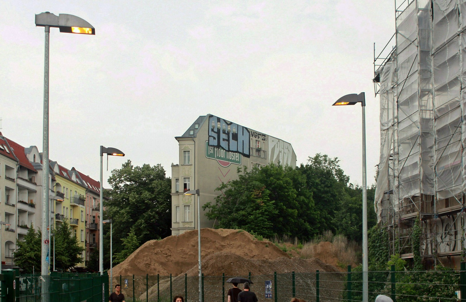 Ostkreuz: Die ehemalige Nordkurve