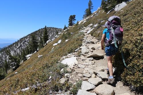 276 Heading uphill in the sun toward the trail intersection below San Jacinto Peak | by _JFR_