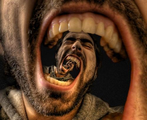 Eternal Scream 3 (Alpha Blending)   by Josh Sommers