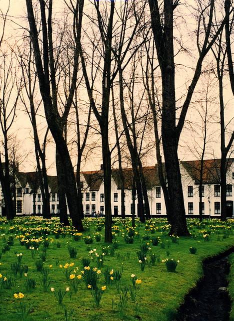 Beginhof outside of Bruges
