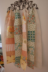 patchwork scarves | by SouleMama