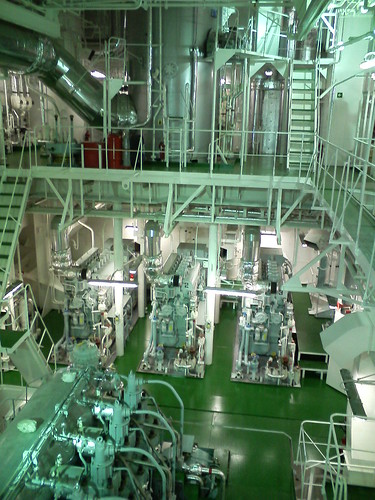 Spaceship Engine Room: Cargo Ship Engine Room 1