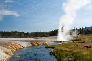 Iron Creek and Cliff Geyser | by Robby Edwards