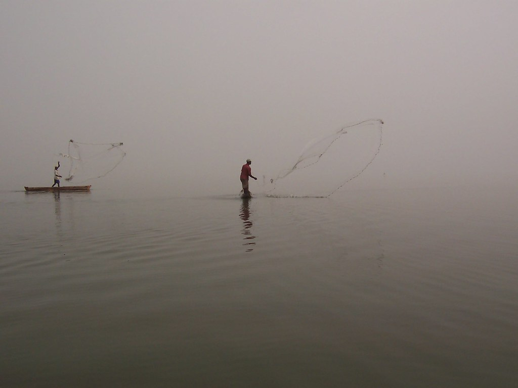 Fishing, Passotomé, Benin