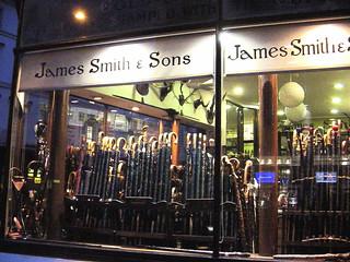 Bloomsbury, 1830 - Oldest umbrella shop in  London