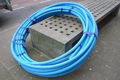 blue tubing