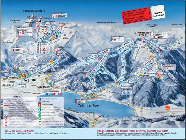Zell Am See Geotagged A Map Of Kitzsteinhorn Schmittenh Flickr
