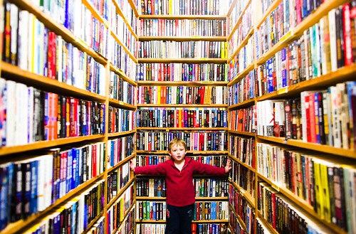 William and the Books | by Thomas Hawk
