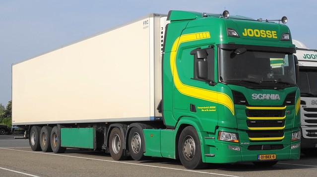 Scania CR450HL Joosse, Nieuw en St. Joosland