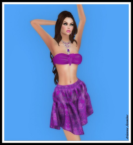 Vayla Top and Summer Skirt by Prism 4 | by ariannajasminesl