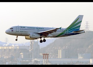 A319-132   Lanmei Airlines   XU-983   HKG   by Christian Junker   Photography