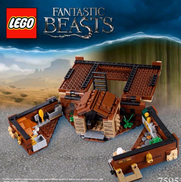 LEGO Newt's Case of Magical Creatures (75952) 2