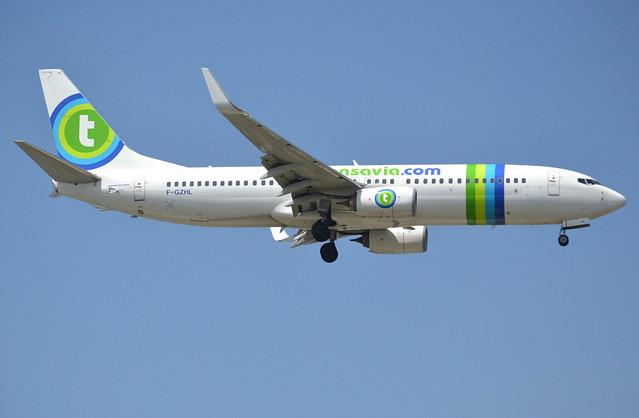 F-GZHL, Boeing 737-8K2(WL), 37791-4858, TO-TVF-FranceSoleil-Transavia France, ORY/LFPO 2018-05-19, short finals to runway 06/24.