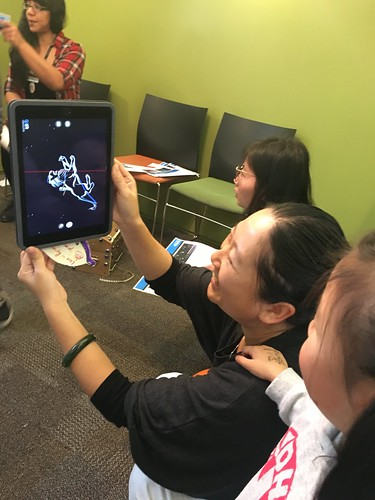 Learning about the stars with the Skyview app
