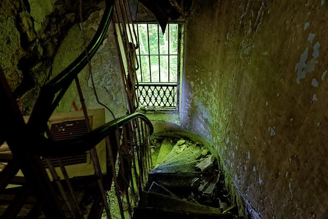 Villa de l'Ambassadeur - Descente d'Escalier
