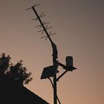 Antenna sunset