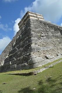 Z.A. Chichen Itza, La pirámide de Kukulkan.