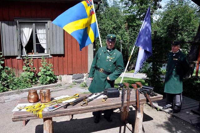 Utställning under unionsflaggan