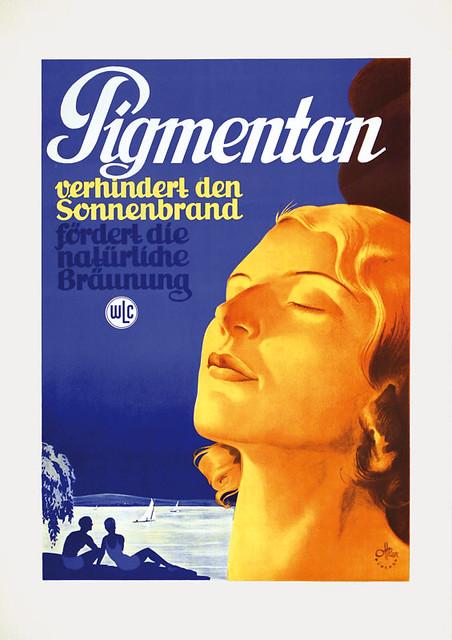 Pigmentan prevents sunburn (1938)