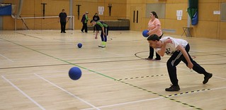 Goalball practice 2018 5 | by Aniridia Network UK