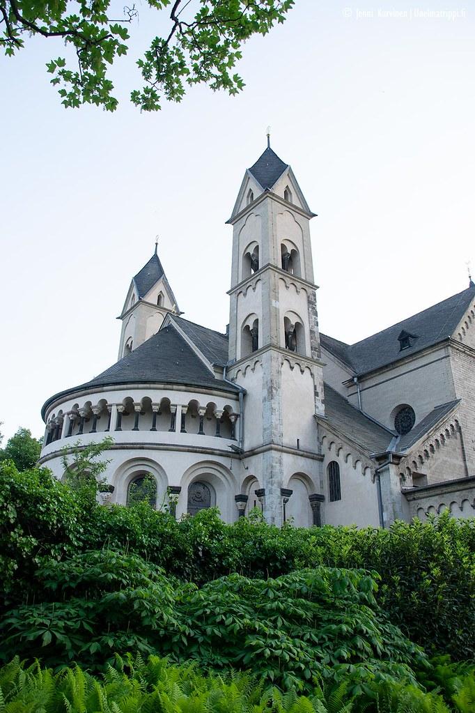Linnamainen rakennus Koblenzissa