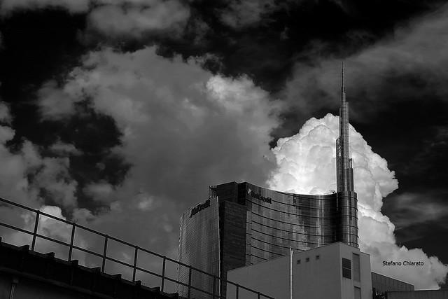 Milano nelle nuvole.