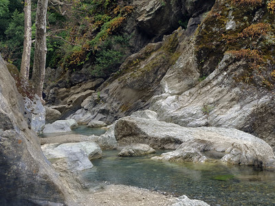 Alameda Creek above Little Yosemite