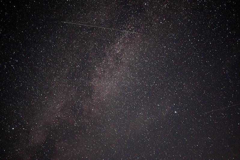 大台ヶ原駐車場の星空