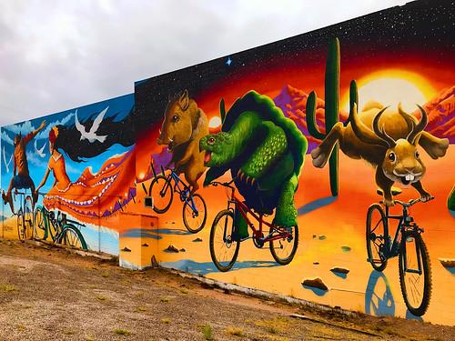 artistsjoepagac mural wall appleiphone7plus wallart places tucsonaz tucson arizona unitedstates us sliderssunday hss