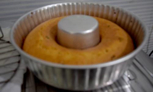 Baked Eggless Semolina Cake