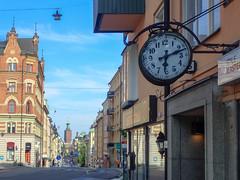 city hall from Hantverkargatan Stockholm