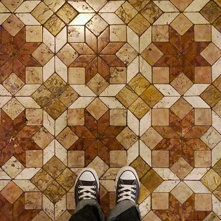 Because there is no such thing as too many shoe pictures. How awesome is that tiled floor, though? 😍 | by DreamsOfNyssa