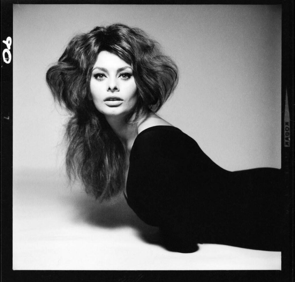 """Sophia Loren. Photographed June 3, 1961 © Richard Avedon ..."