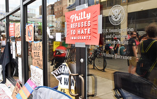 Philly July 4 Abolish ICE Occupation | by joepiette2