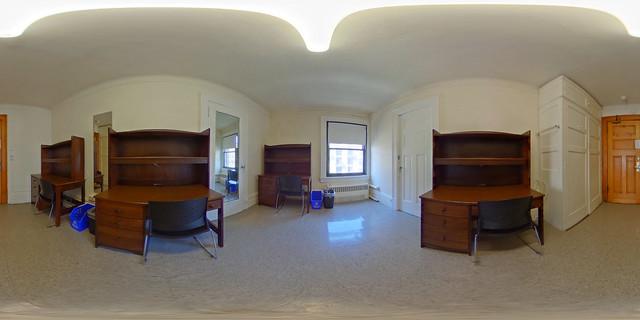 Click for 360 view - Brooks Walkthrough Quad Center Room