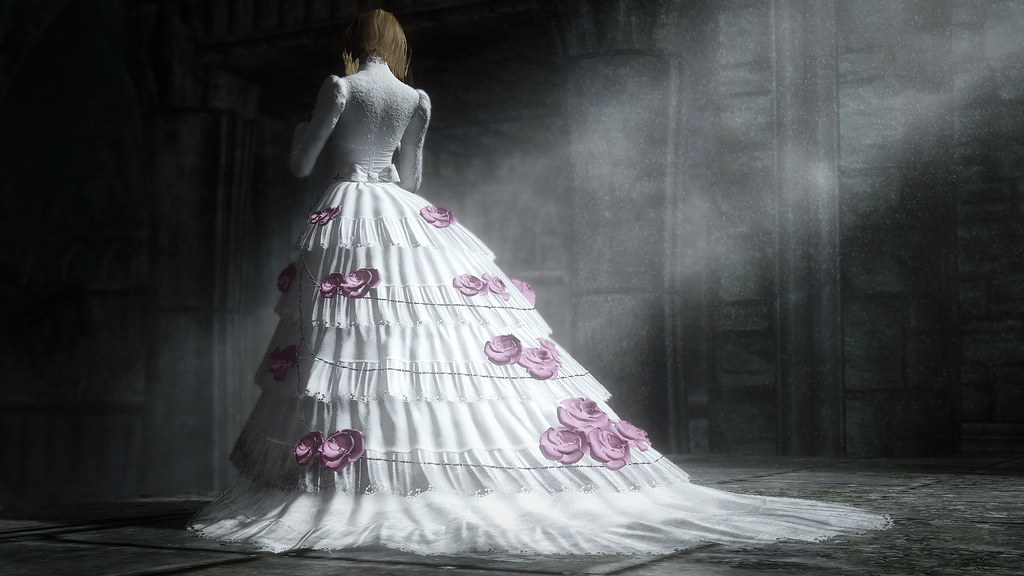 Skyrim Wedding Dress.Yharnam Update I Finally Got The Motivation To Clean Up Th Flickr