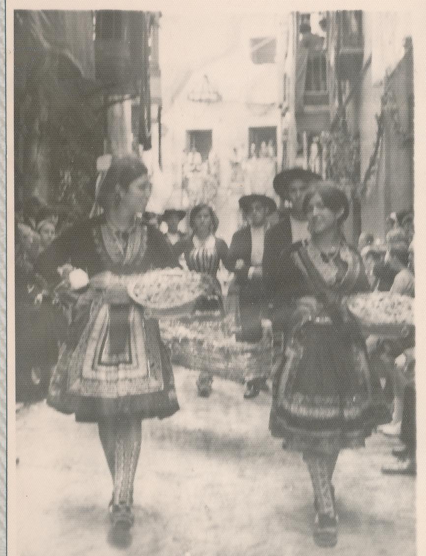 Procesión del Corpus Christi en Toledo en 1962. Fotografía de Julián C.T.