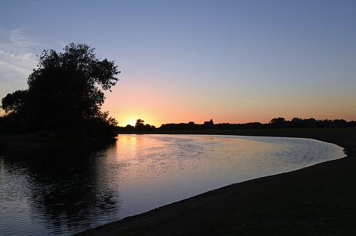 riverthames oxford sunset nikond810 summersolstice portmeadow