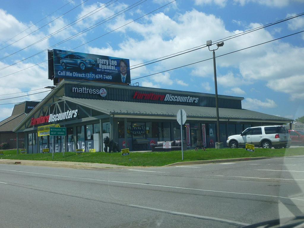 Furniture Discounters E Washington St Indianapolis In Flickr